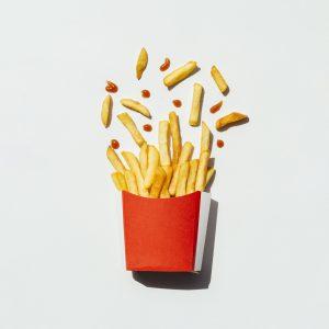 Psicología del color, rojo, comida rápida, comprar